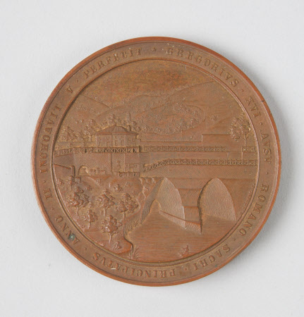 Papal coin, 1835: Pope Gregory XVI (Bartolomeo Alberto Cappellari) (1765-1846)