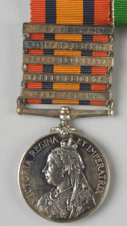 Base metal medal with portrait of Queen Victoria (1819-1901)