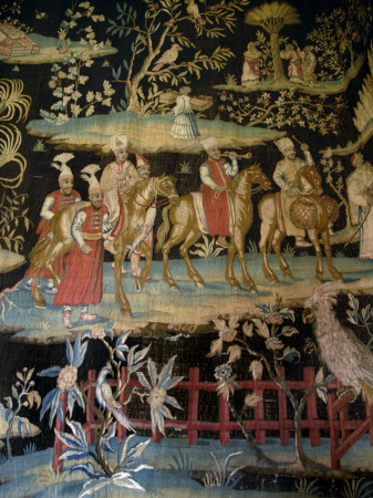 Tapestries 'after the Indian Manner'