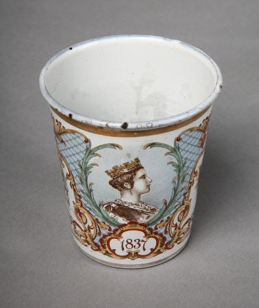 Beaker commemorating the Diamond Jubilee of Queen Victoria (1819-1901)