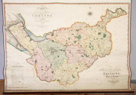Map of the County Palatine of Chester.