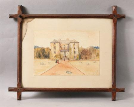 Braham Castle: 1858