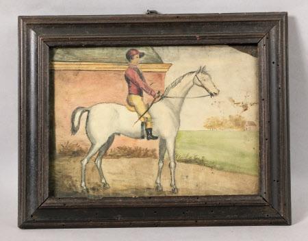 White Horse and Jockey