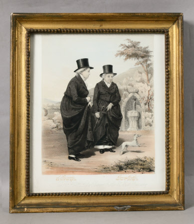 The Ladies of Llangollen: Lady Eleanor Charlotte Butler (1738/9-1829) and Sarah Ponsonby (1754-1831)