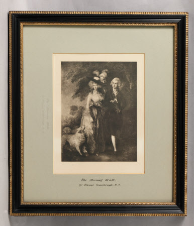 The Morning Walk: William Hallett (1764-1842) and his wife Elizabeth Stephens, Mrs William Hallett ...