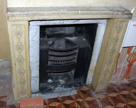 Chimneypiece, Document Room Cupboard, Wimpole Hall