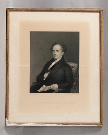 The Honourable Abbott Lawrence (after Chester Harding)