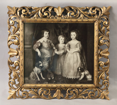 The Three Eldest Children of King Charles I (Charles, Prince of Wales later Charles II, James, Duke ...