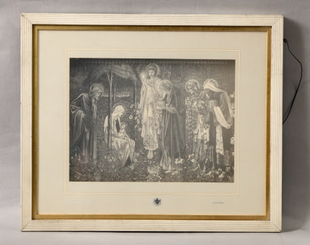 Adoration of the Magi (after Sir Edward Coley Burne-Jones)