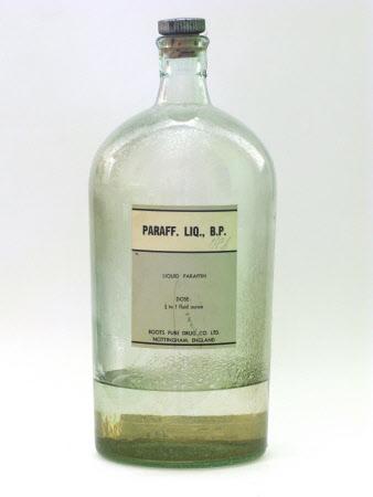 Liquid paraffin bottle