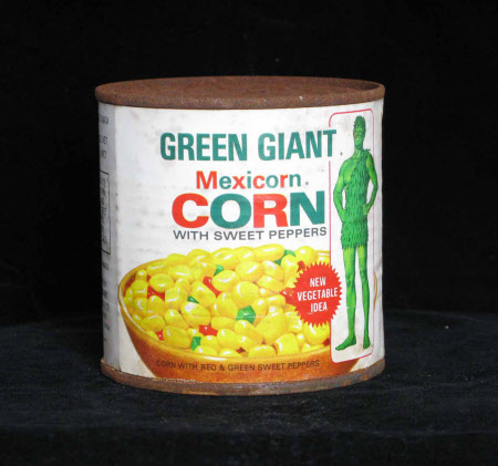 Sweet corn tin