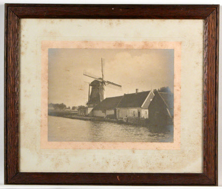A windmill in the north of Holland