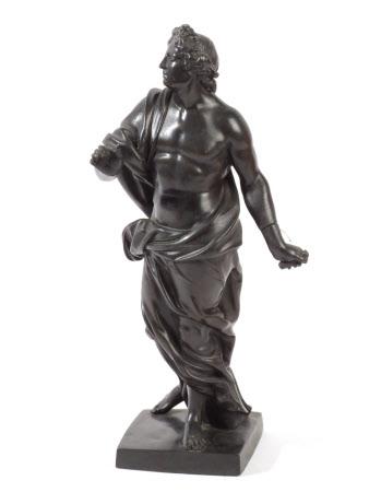 A Louis XIV style figure of Apollo (?)