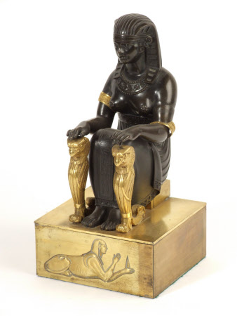 Seated Egyptian Figure