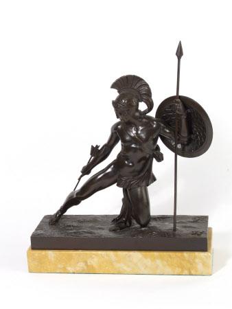 Empire style Fighting Greek Hero