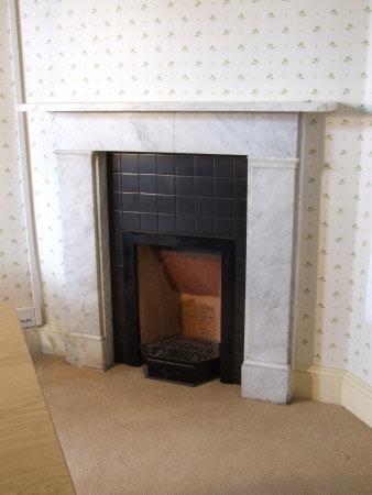 Chimneypiece, Mauve Bedroom, Hinton Ampner