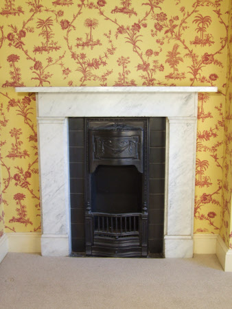 Chimneypiece, Chinese Dressing Room, Hinton Ampner