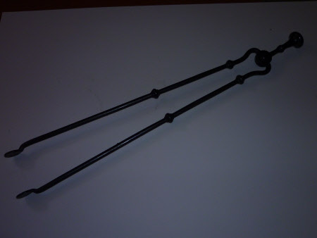 Steel Fire Tongs
