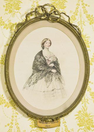 The Hon Elizabeth Anna Maria Barbara Egerton (b.c.1840-1893)