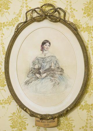 The Hon. Alice Mary Egerton, The Hon. Mrs Reginald Cholmondeley (d.1868)