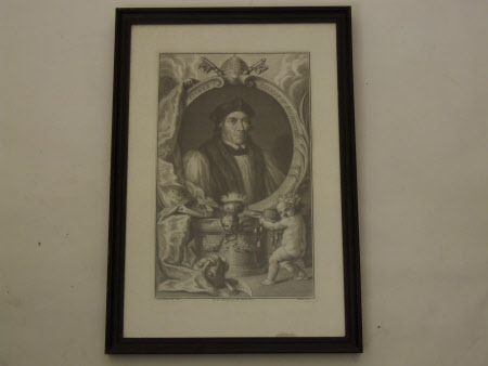 John Fisher (1469-1535) Bishop of Rochester (after Hans Holbein the younger)