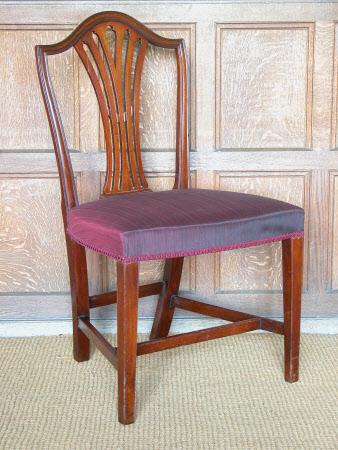 Hepplewhite style chair