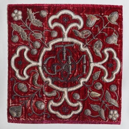 Needlework panel