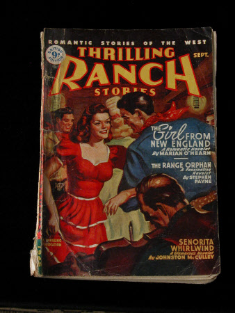 Romantic Stories of the West - Thrilling Ranch Stories