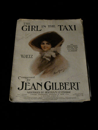 Girl in the Taxi...