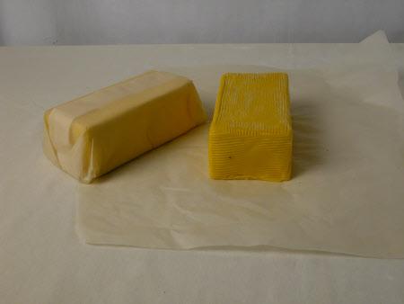 Artificial butter pat