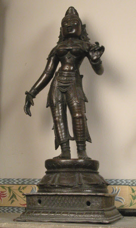 The Hindu Goddess Lakshmi
