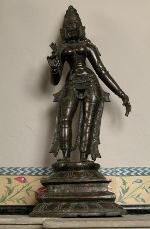 The Hindu Goddess Bhudevi