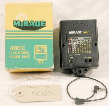 480C Electronic flash unit