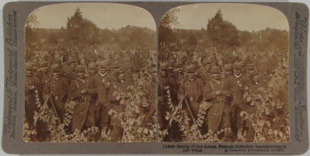 Battle of the Aisne, French infantry, transferring to left wing