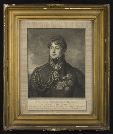 King George IV (1762-1830) (after Thomas Phillips, RA)