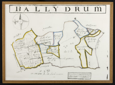 Map of Ballydrum, County Mayo, Ireland
