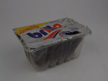 Brillo pads box