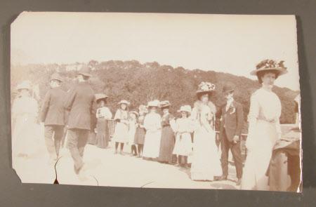 Group including Captain, The Hon.Thomas Charles Reginald Agar-Robartes, MP (1880-1915)