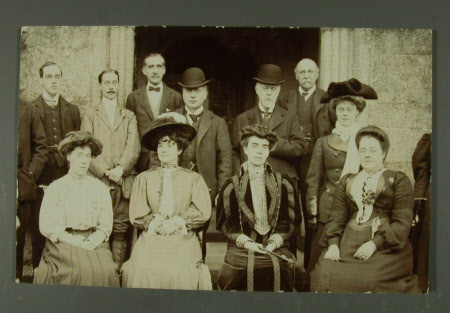 The Hon.Thomas Charles Reginald Agar-Robartes, MP (1880-1915), Mary Dickinson, Viscountess Clifden ...