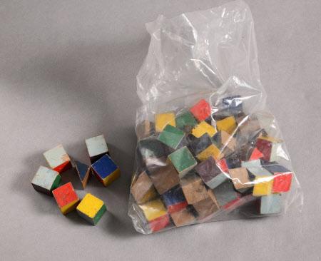 Toy brick set