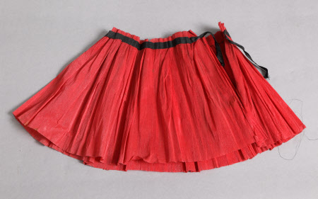 Fancy dress skirt