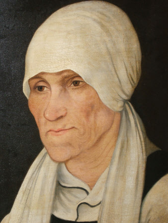 Margaretha Luther, Mrs Hans Luther (1460-1531) (after Lucas Cranach the elder)