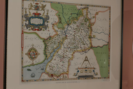 Map of Gloucestershire 1577