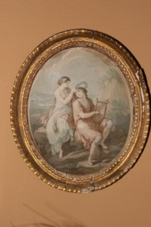 Damon and Delia (after Angelica Kauffman)