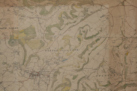 Map of Ozleworth and Newark Park.