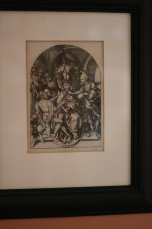 Christ Crowned with Thorns (after Martin Schongauer)