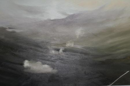 A Misty Mountain Landscape
