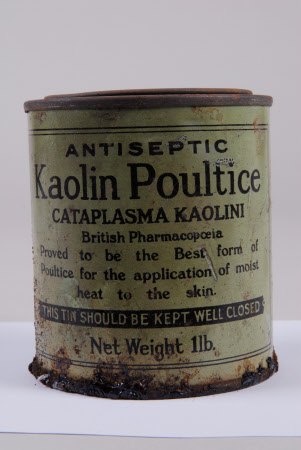 Tin and contents
