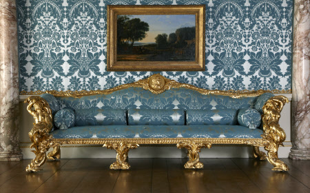 'The Kedleston Drawing Room Sofas' by John Linnell 1765