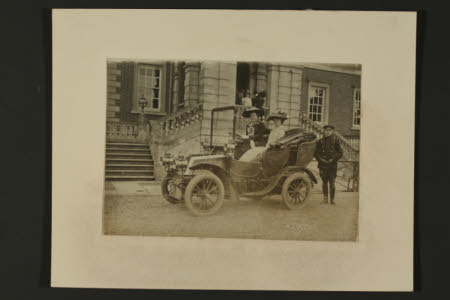 Mary Dickinson, Viscountess Clifden (1853-1921) with her daughter The Hon. Mary Vere Agar-Robartes, ...